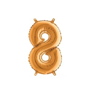 Numero 8 35cm Oro...