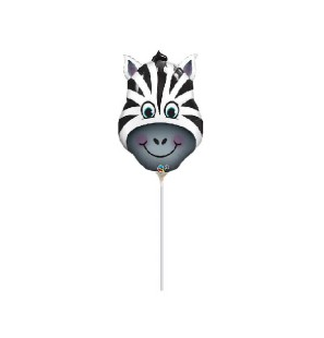 """Mini Shape Testa Zebra 14"""""""