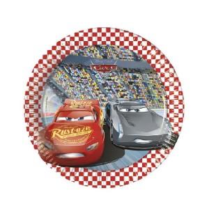 Piatti Torta di Carta Cars...