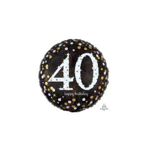 Birthday  40 Sparkle...