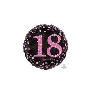 Birthday 18 Pink Cele...