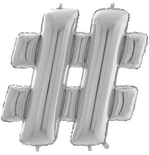Simbolo - Hashtag 35cm...
