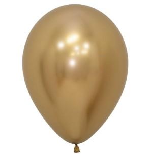 12 Palloncini Oro Reflex...