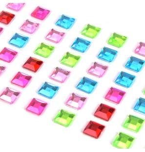 242 Pietre Adesive Quadrate...