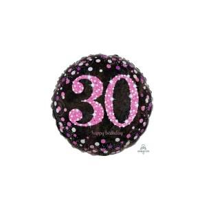 Birthday 30 Pink Cele...