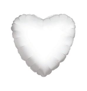 "Cuore Bianco 18""-Mylar"