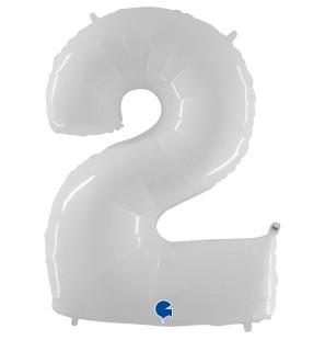"Numero 2 in Mylar 40""/100cm..."