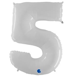 "Numero 5 in Mylar 40""/100cm..."