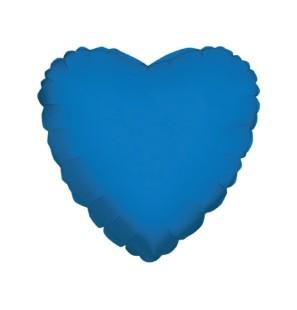 "Cuore Blu Scuro 18""-Mylar"