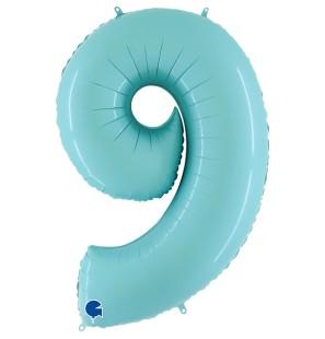 "Numero 9 in Mylar 40""/100cm..."