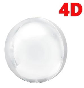 "Sfera 4D Bianco 22""/56cm..."