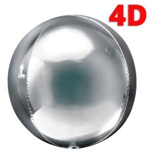 "Sfera 4D Argento 32""/81cm..."