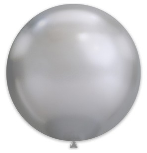 1 Palloncino Argento Chrome...