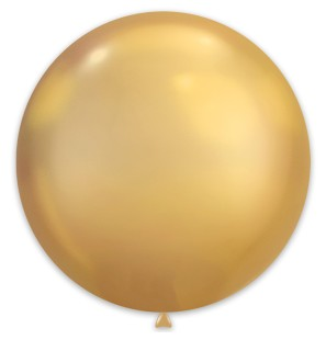 1 Palloncino Oro Chrome...