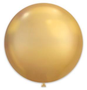 25 Palloncini Oro Chrome...
