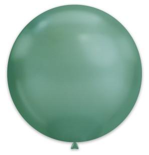 25 Palloncini Verde Chrome...