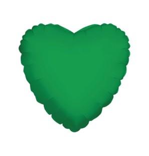 "Cuore Verde Smeraldo 18""-Mylar"