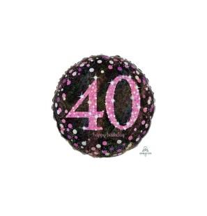 40 Anni Olografico Donna...
