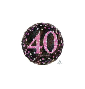 Birthday 40 Pink Cele...