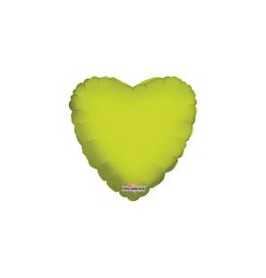 Palloncino Cuore Verde Lime...