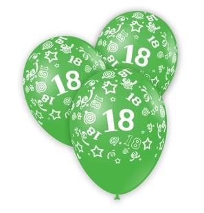 100 Palloncini Verde con...