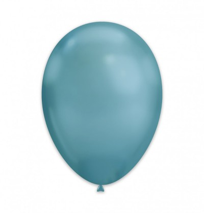 1 Palloncino Blue Chrome...