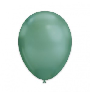 50 Palloncini Verde Chrome...