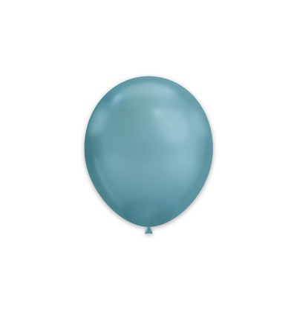 100 Palloncini Blu Chrome...