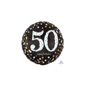 Birthday 50  Sparkle...