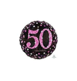 Birthday 50 Pink Cele...