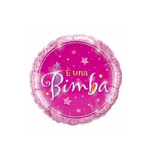 """E'UNA BIMBA STARS 18"""" - MYLAR"""