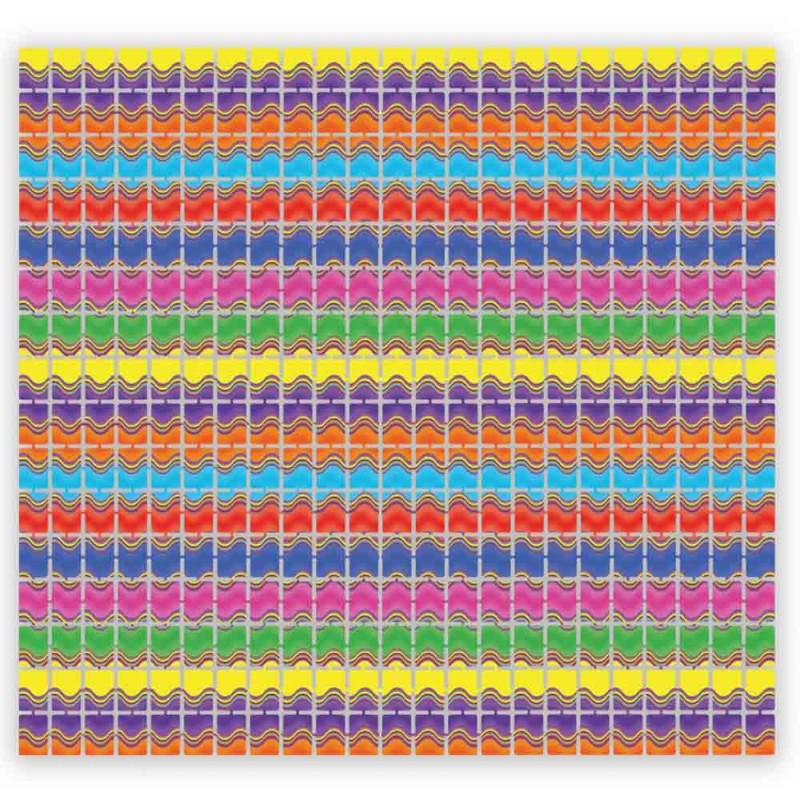 Global One Stroke Palette Rainbow Burst