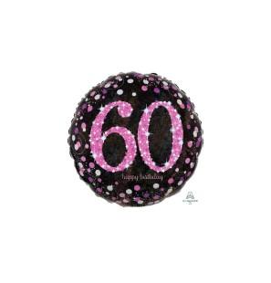 Birthday 60 Pink Cele...