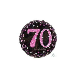Birthday 70 Pink Cele...