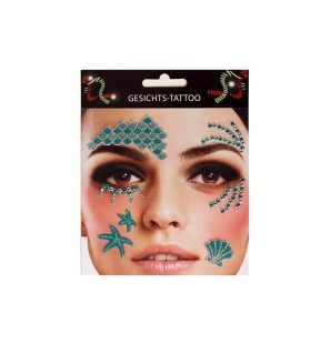 Face sticker Mermaid - 14403