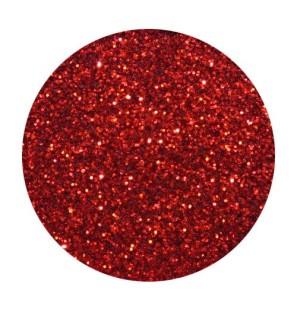 Glitter in Busta Red Fire...