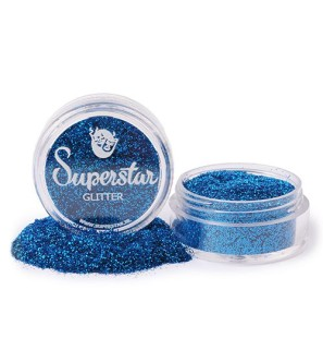 Glitter in Vasetto Blue...