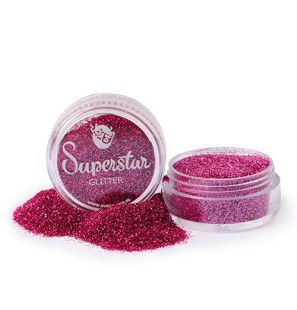 Glitter in Vasetto Pink...