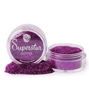 Glitter in Vasetto Purple...