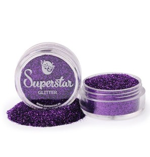 Glitter in Vasetto Purple...