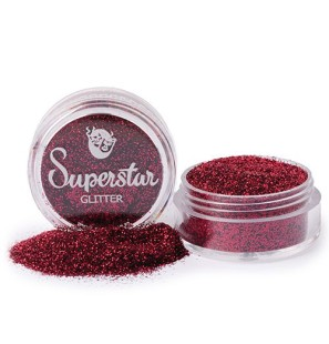Glitter in Vasetto Red Wine...