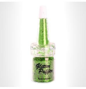 Glitter Puffer Apple Green